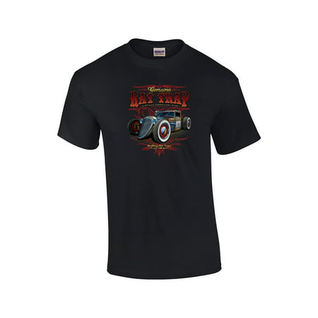 Genuine Rat Rod 13 Automotive Adult T-shirt