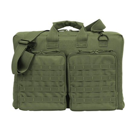 Voodoo Tactical 20-9420 Deluxe Terminator Padded MOLLE Range Bag, Olive Drab