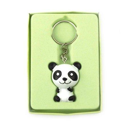 Safari Keychain Favors, 4-Inch, Baby Panda, White](Panda Keychain)