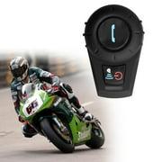 BT Motorcycle Helmet bluetoth Headset Motorbike Intercom Headset, 500M