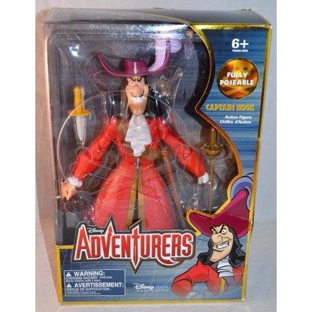 Disney Store Adventurers Fully Poseable Captain Hook 12