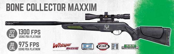 Gamo Bone Collector Maxxim 61100625554 Air Rifles .22 3-9x40 by Gamo