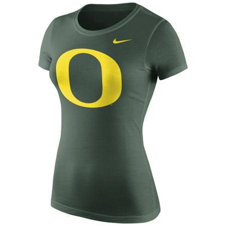 Oregon Ducks Nike Women's Logo Crew T-Shirt -