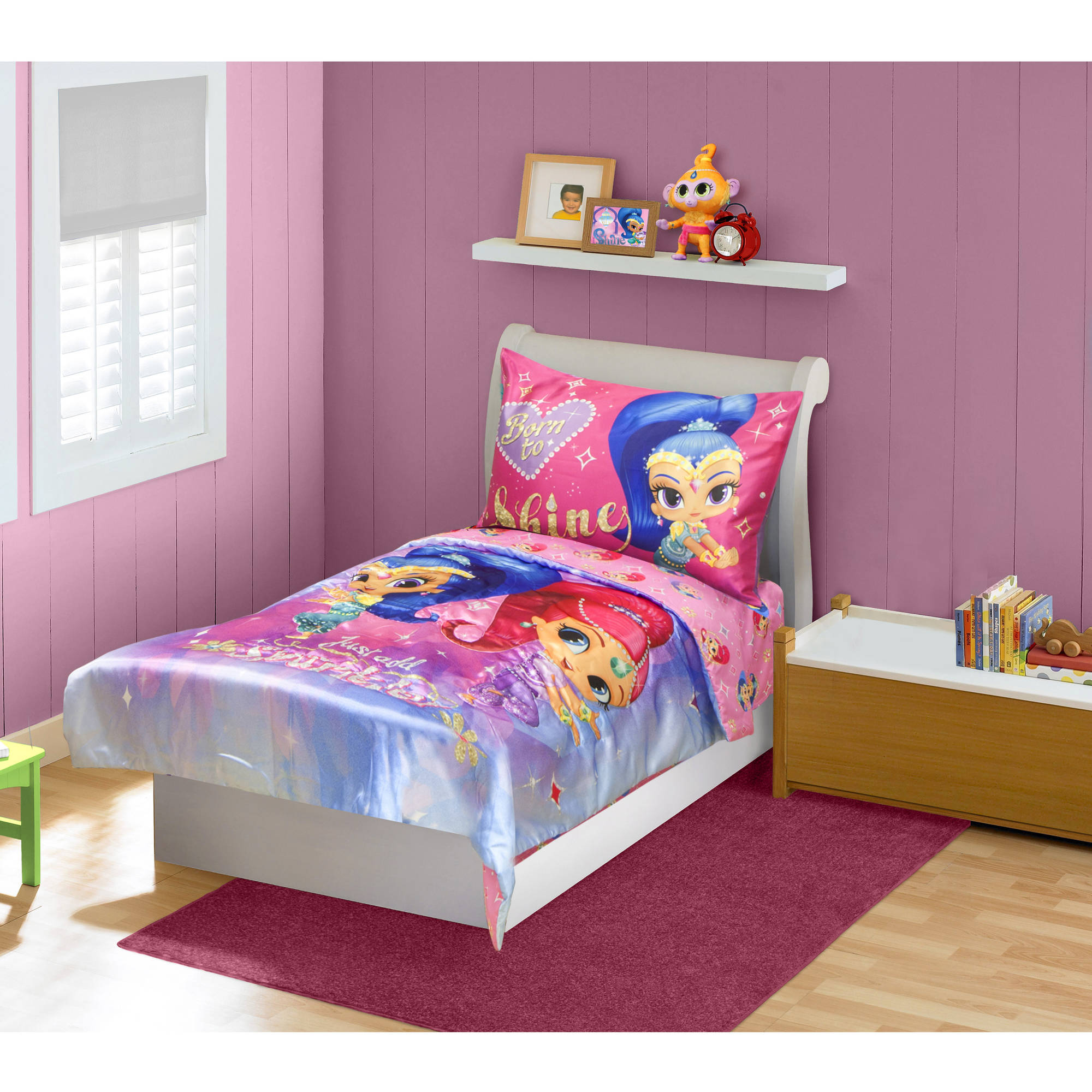 Shimmer & Shine 4-Piece Toddler Bedding Set