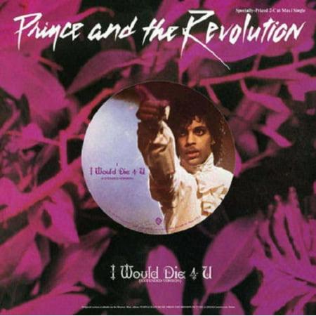 Prince and The Revolution - I Would Die 4 U - Vinyl Revolution Die Tabs