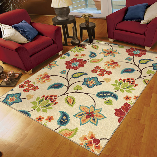 Orian Rugs Indoor/Outdoor Garden Chintz Area Rug or Runner