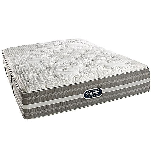 Beautyrest Recharge World Class Smyrna Plush King Size Mattress Only