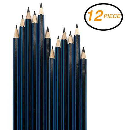 Emraw Pre Sharpened Drawing Sketching B Pencil Set (HB, 2B, 4B, 6B, 7B, 8B), Pack of 12 Premium Wood Cased Graphite Art Pencils for Beginners & Professional Artists, Adults & - Cheap Capes For Adults