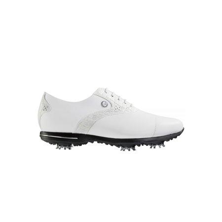 63834f69a5f58d c o Womens FootJoy 91654 7 Medium White White Croc Tailored ...