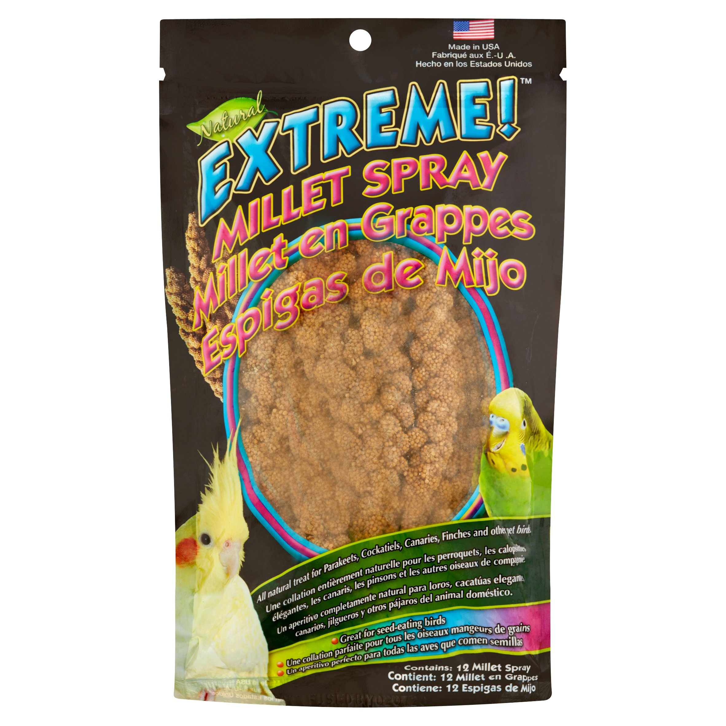 F.M. Brown Extreme Millet Spray, 12 pk