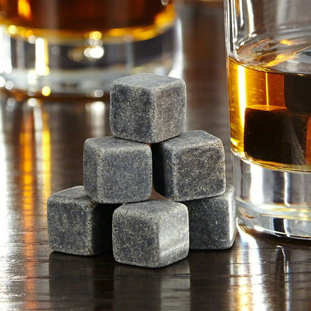 Wine Ice Cube Accessories Wine Whisky Ice Stones Drinks Cooler Cubes Beer Whiskey Rocks Granite](Reusable Plastic Ice Cubes For Drinks)