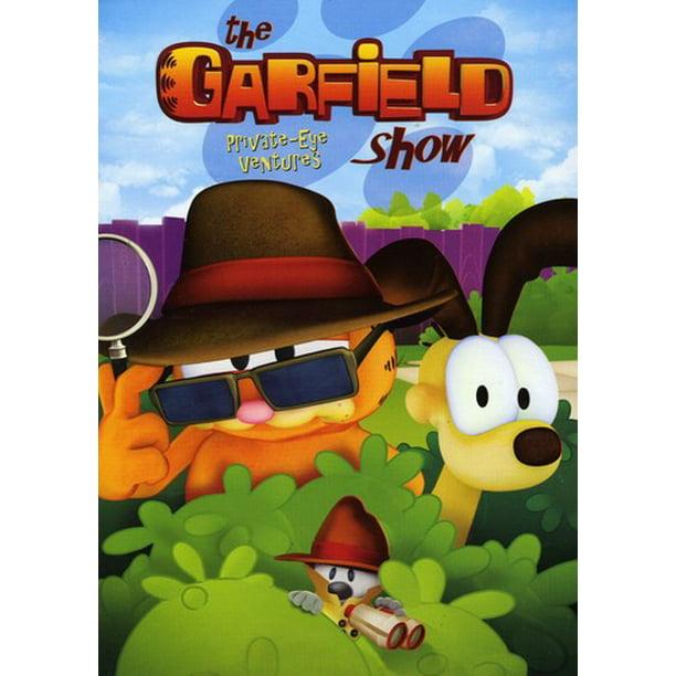 The Garfield Show Private Eye Ventures Dvd Walmart Com Walmart Com