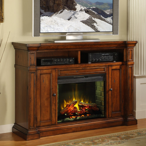 Legends Furniture Berkshire 58'' TV Stand with Fireplace