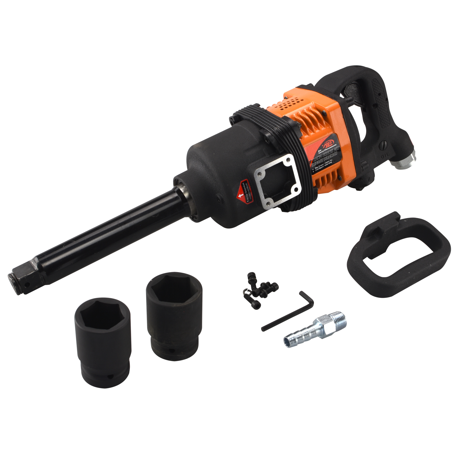 Tooluxe 31414L Industrial Air Impact Wrench, 1-Inch