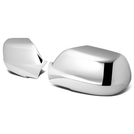 For 05-10 Jeep Grand Cherokee WK Pair of Exterior Side Door Mirror Covers (Chrome) 06 07 08 09 08 Chrome Door Pillars Posts