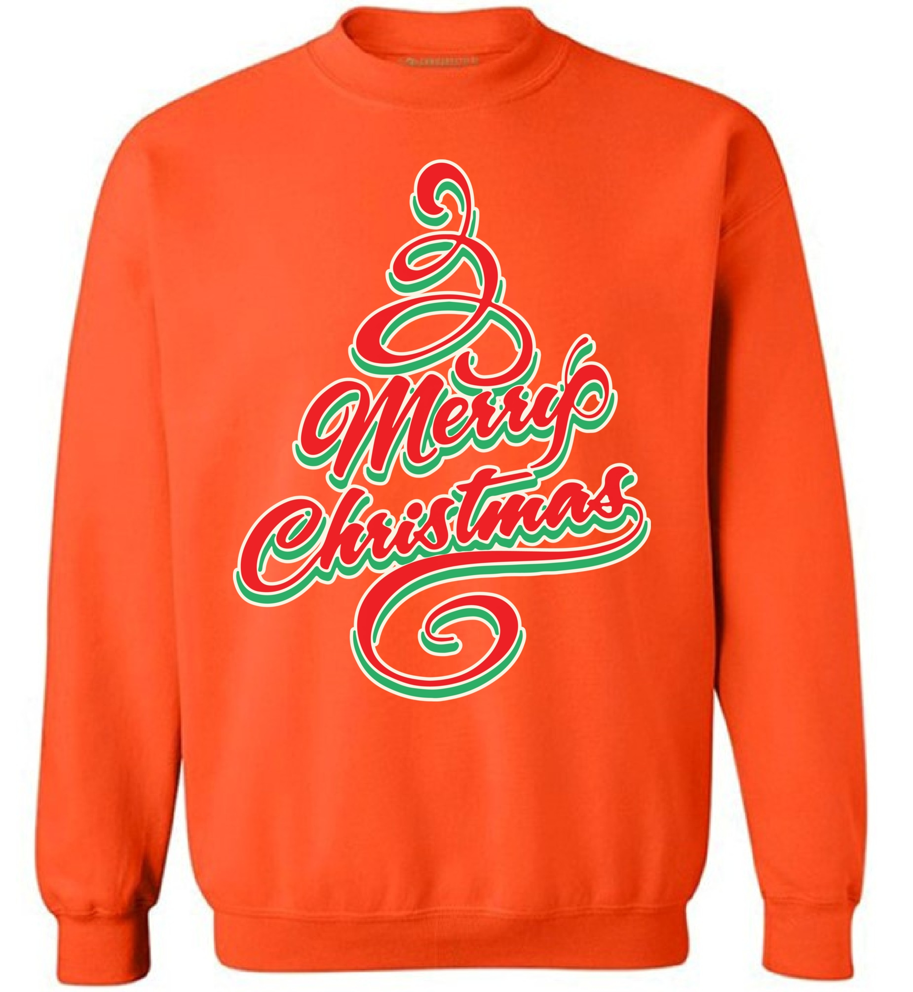 Awkward Styles Merry Christmas Holiday Sweatshirt Christmas Tree Christmas Sweatshirt Funny Christmas Sweater Party Xmas Gifts Christmas Sweatshirt for Men for Women Xmas Tree Holiday Sweater