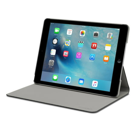 Logitech Hinge Flexible - Flip cover for tablet - fabric - for Apple iPad Air 2 (Ipad Air 2 Logitech Type+)