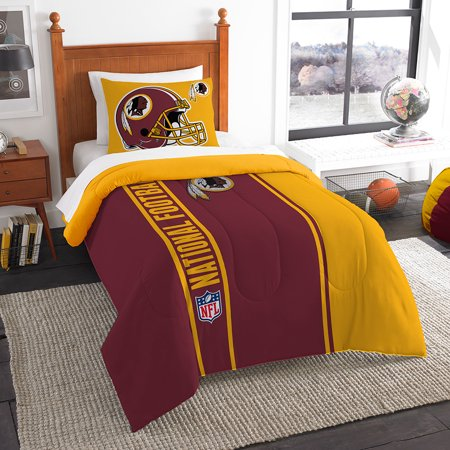 Washington Set - Washington Redskins NFL Twin Comforter Set (Soft & Cozy) (64