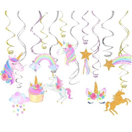 Unicorn Party Decorations For Unicorn Birthday Party or Baby Shower-30 ct](Unicorn Party)