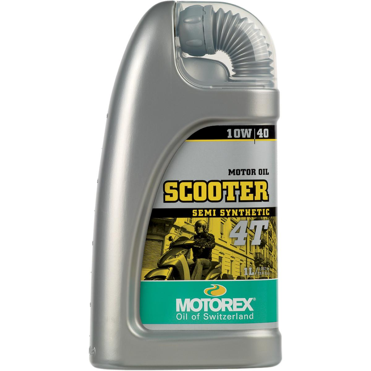 Motorex 102326  /196049 Scooter 4T Oil - 10W40 - 1L.