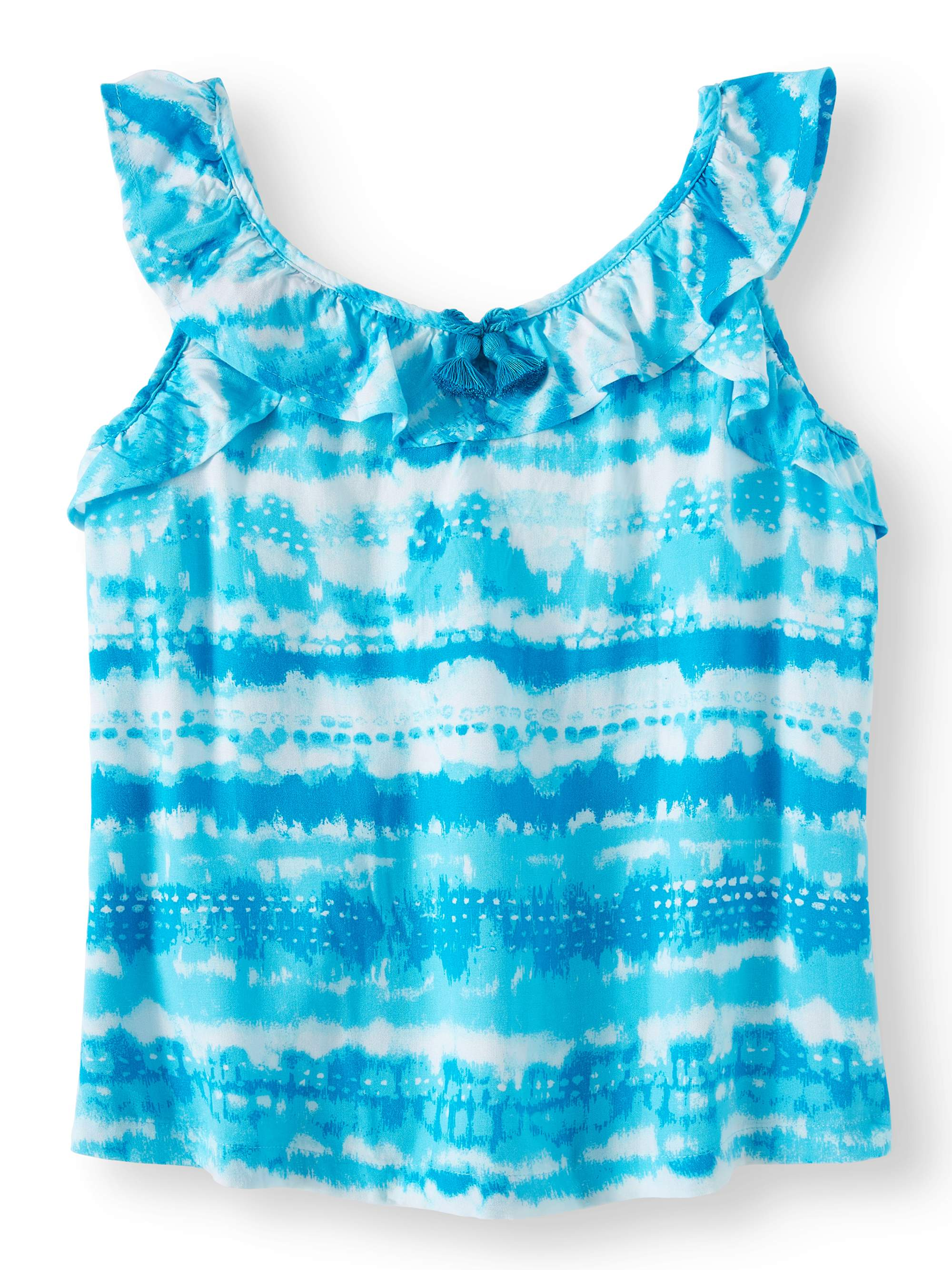 Wonder Nation Girls Ruffle Top