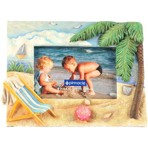 Pinnacle Frame Beach with Chair Frame, 4x6