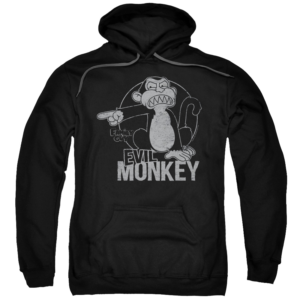 Family Guy Evil Monkey Adult Pullover Hoodie
