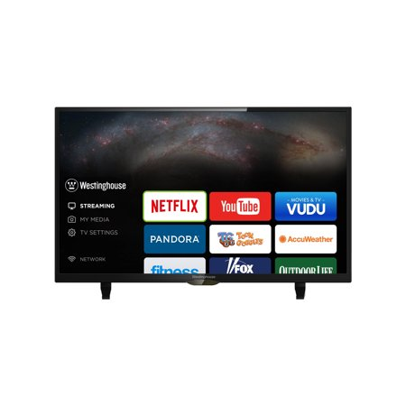 WESTINGHOUSE FACTORY RECERTIFIED WD40FT2108 40IN 1920X1080-FHD 1K:1-CONTRAST 60HZ LED SMART HDTV W/ SPEAKERS (Tv Plasma Westinghouse)