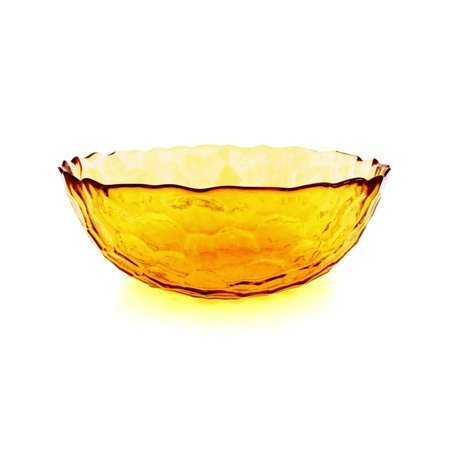Red Pomegranate HIVE SET/2 SOUP BOWLS AMBER