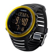 Best Fishing Watches - FR721A Gold Fishing Barometer Digital Watch, Gold Review