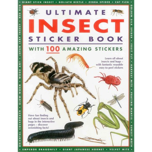 Ultimate Insect Sticker Book: With 100 Amazing Stickers