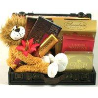 Gift Basket Drop Shipping LeoLion Go Wild Trunk with Leo the Lion Gift Basket