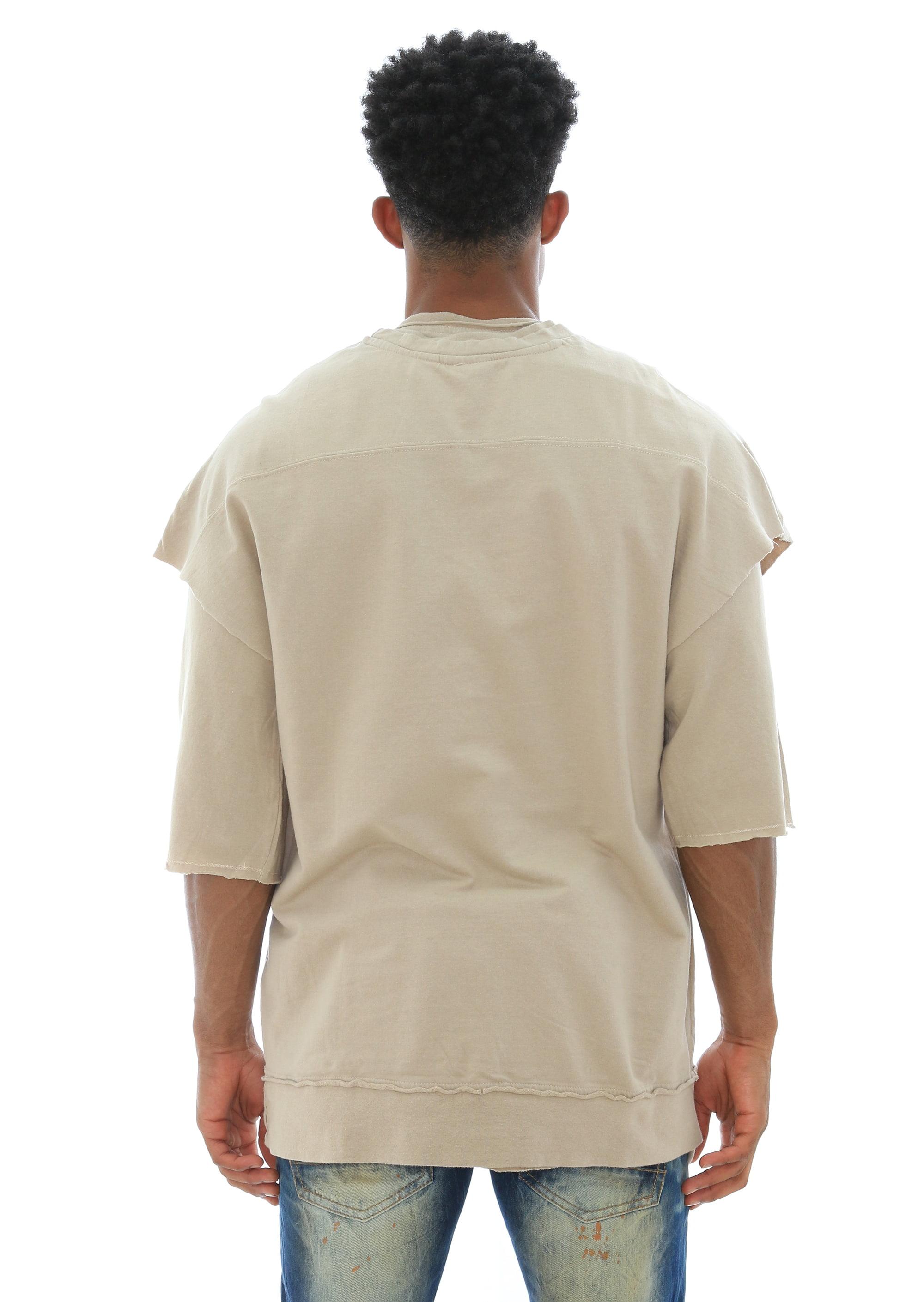 d7f118ee80d56f Akademiks - Akademiks Men s Dobbs Layered 2 Piece Set Longline T Shirt -  Walmart.com