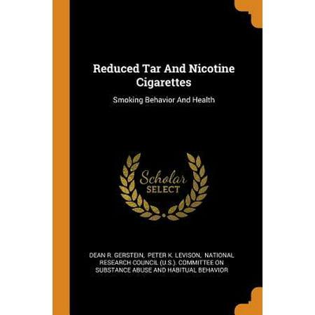 Reduced Tar and Nicotine Cigarettes: Smoking Behavior and Health