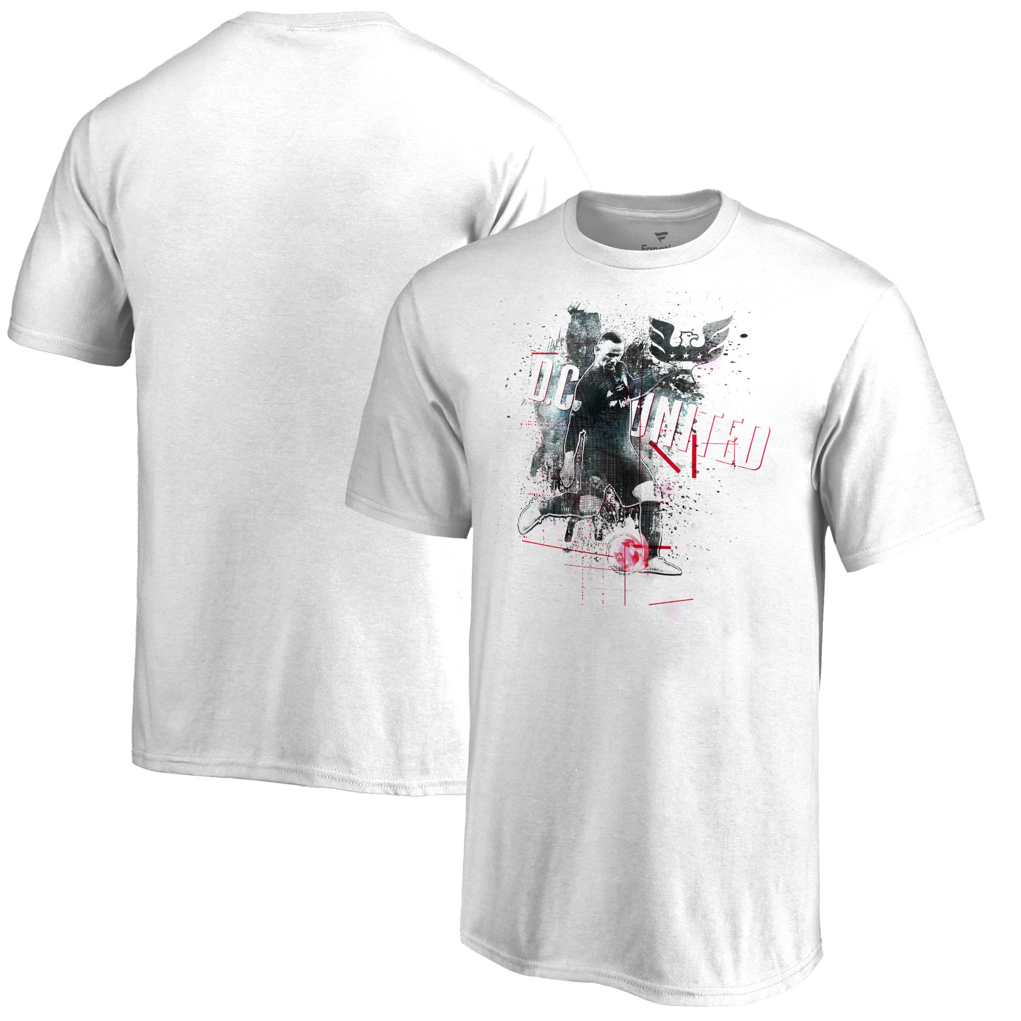 Wayne Rooney D.C. United Fanatics Branded Youth Image T-Shirt - White