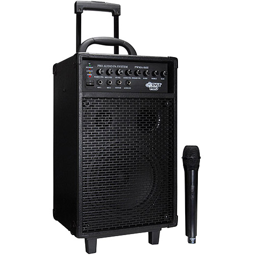 Pyle PWMA860I Wireless 500W PA with iPod Dock