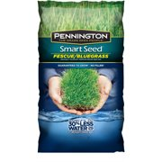 Pennington Smart Seed Saves Up To 30% Water, Fescue and Bluegrass Grass Seed, 3 lbs