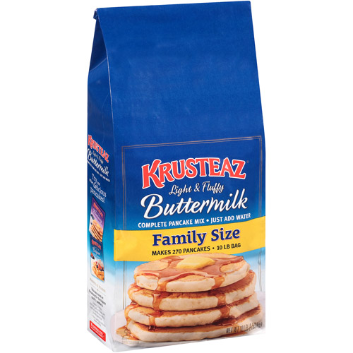 Krusteaz Family Size Buttermilk Complete Pancake Mix, 10 lbs