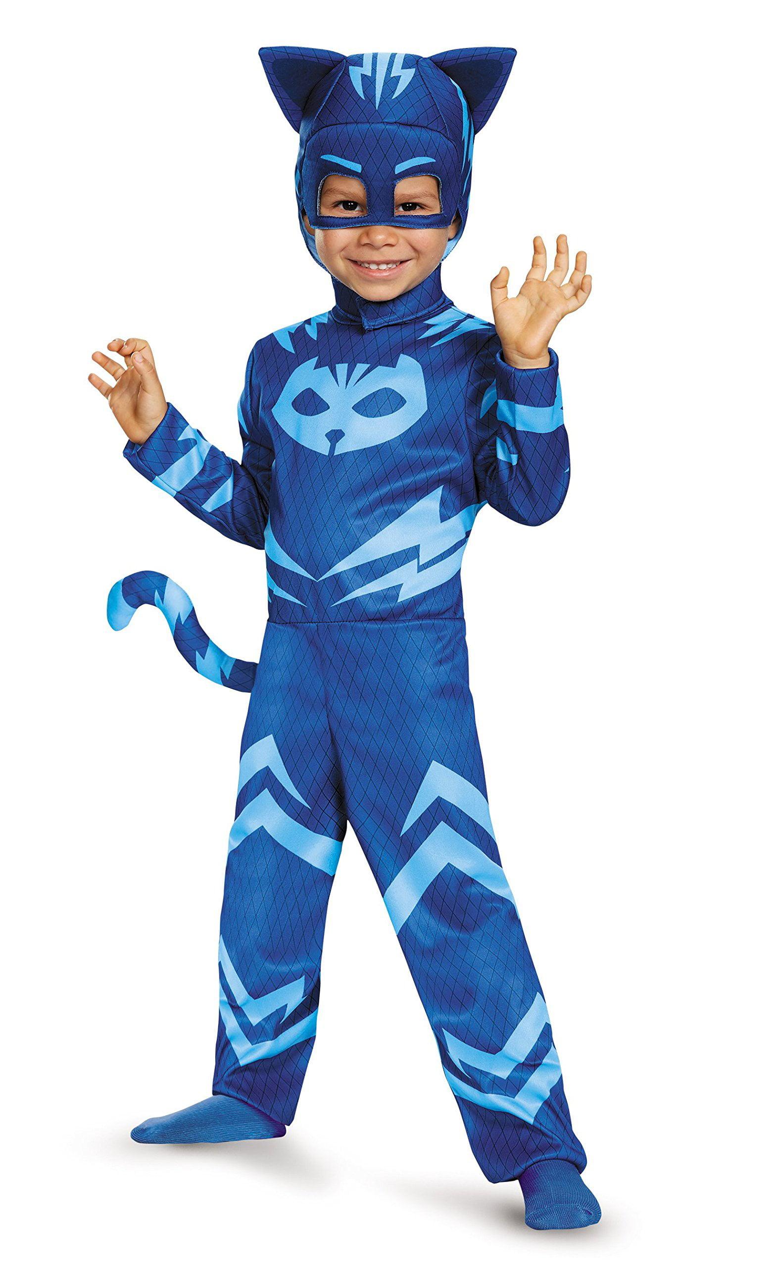 pj masks catboy classic child halloween costume - walmart