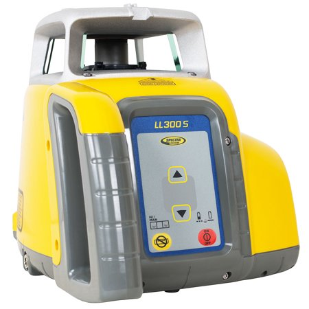 Spectra LL300S-7 Self-Leveling Single-Axis Laser Level Kit w/ HL760 Receiver Electronic Self Leveling Single