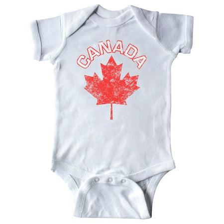 Canada Maple Leaf Infant Creeper