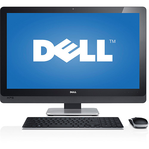 """Dell XPS 2720 All-in-One Desktop PC with Intel Core i7-4770S Processor, 8GB Memory, 27"""" Touchscreen Display, 2TB Hard Drive + 32GB SSD and Windows 8.1"""