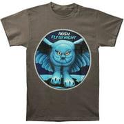 Rush Men's  Fly By Night Grey Slim Fit T-shirt Grey