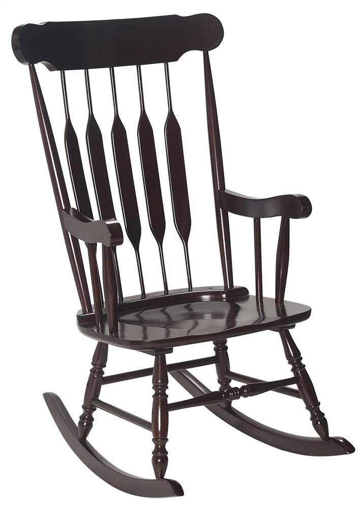 Gift Mark Adult Rocking Chair   Cherry   Walmart.com