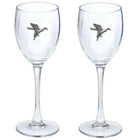 Glass Set Anaheim Ducks - Pintail Duck Goblets (Set of 2)