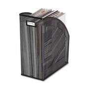 Rolodex, ROL62560, Nestable Mesh Jumbo Magazine File, 1 Each, Black