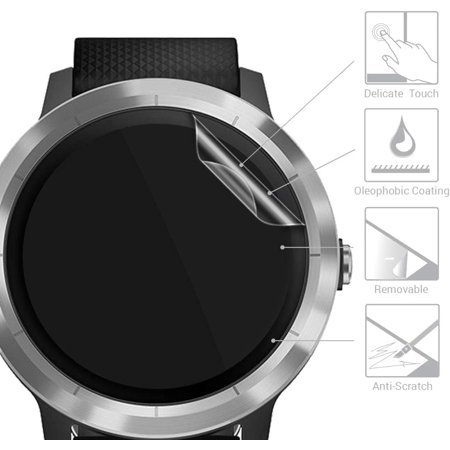 kwmobile Screen Protector for Garmin Vivoactive 3 - Protective Film for Fitness Tracker - image 2 of 5