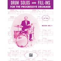 Drum Solos and Fill-Ins for the Progressive Drummer, Bk 1 (Paperback)