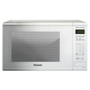 Panasonic 1.3 cft Microwave Oven - White, NN-SU676W