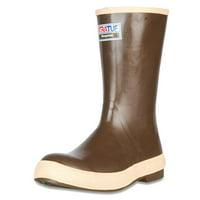 """Xtratuf Men's Legacy 12"""" Plain Toe Boots w/ Chevron Outsole & Heel - Size 11"""